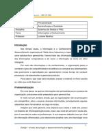Tema 5- Informações e Conhecimento