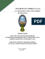 BULLYNG EN BOLIVIA