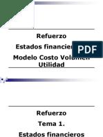 Refuerzo Ef y Modelo Cvu. Modif. 2014