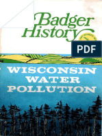Badger History Wisconsin Water Pollution