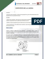 INFORME-Peso Especifico de La ARENA