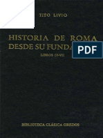 Tito Livio - Historia de Roma Desde Su Fundación - Tomo 2 - Libros 4 - 7