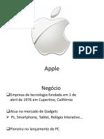 Apple Apresentação.ppt