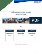 Programa Capacitación Protocolos Minsal - 2017