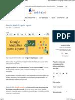 Google Analytics Paso a Paso 2016. Guia Completa en Español