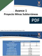 Proyecto Mina Subterránea