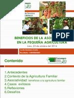 Beneficios de La Asociatividad en La Pequena Agricultura Lucil Quintana