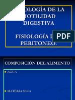 TEMA 9 -FISIOLOGÍA DE LA MOTILIDAD DIGESTIVA - FISIOLOGÍA DEL PERITONEO.ppt