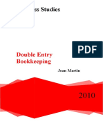 Double Entry Bookkeeping Joan Martin