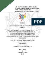 Salcedo Alca Erwin Sixto - Seccion b - Baterias - Segunda Fase