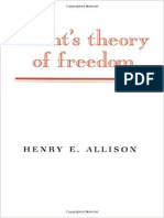 Henry E. Allison - Kant's Theory of Freedom (1990, Cambridge University Press)