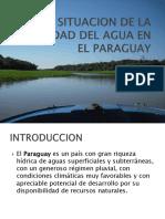 Situacion de Aguas Del Paraguay