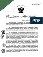 Resolucion Ministerial N 514-2018-MINSA