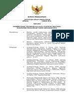 SK BUPATI - Pembentukan Tim Pengelola Data Statistik Sektoral Kabupaten Pekalongan 2018