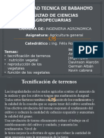 Agricultura General Expocicion