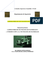 Tecnologia de Materiales I Manual