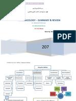 Summary of Pharmacology1 by 3alam El Teb Dr.mahmoud