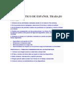 Propedeutico de Español Trabajo Final