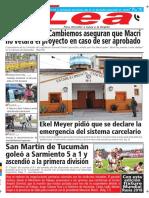 Periódico Lea Lunes 4 de Junio Del 2018