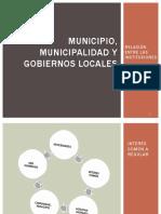1. Clase Uno Municipio, Municipalidad y Gobiernos Locales