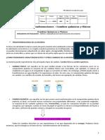 Guia Cambio Quimicos y Fisicos 7°