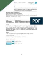 DES01 Establecimiento de Objetivos Empresariales