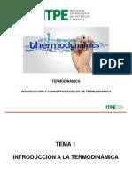 01 Introducción y Conceptos Básicos de Termodinámica