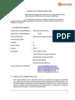 Silabo - Maquinaria Pesada - Teoría Del Mantenimiento VF