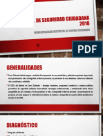 Plan Local de Seguridad Ciudadana 2018