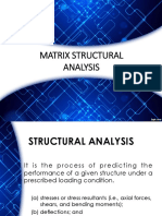 Matrix Structural Analysis (Truss)