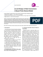 Structural Analysis and Design of Steel Connections