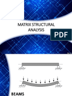 Matrix Structural Analysis (Beams)