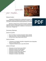 Cotizacion Para Asado Tijerales Abril 2018
