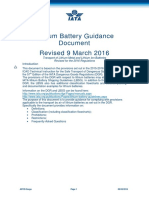 IATA Lithium Battery Guidance Document 2016