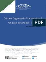 Crimen Organizado Transnacional. Un caso de analisis