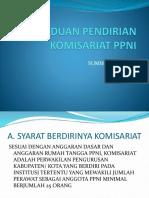 Panduan Pendirian Komisariat Ppni
