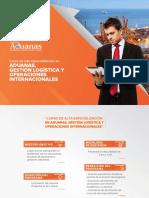 Brochure Escuela de Aduanas