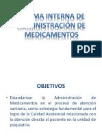 Norma Interna de Administración de Medicamentos (1)