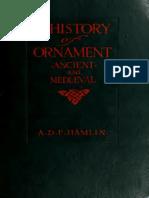HISTÓRIA DO ORNAMENTO