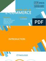 Présentation sur le E-Commerce