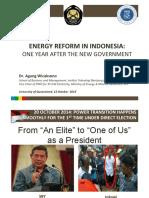 ToSend UQEnergyTalk AgungWicaksono IndonesiaEnergyReform