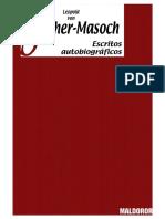 Maldoror ediciones Masoch Escritos