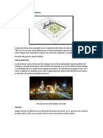 Plaza de Armas Organizacion Espacial