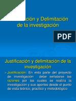 Justificacion y Delimi