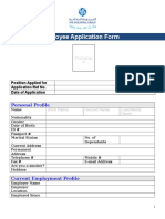 The Industrial Group Employment Application Form
