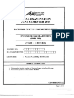 Bms 201 Engineering Statistics 201409