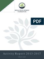 MDF Activity Report_A4