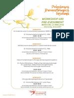 Program Primaderma 2018