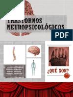 TRASTORNOS NEUROPSICOLÓGICOS