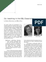 2008 Dkg Article Co-teaching Copy